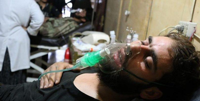 Режим Асада применил химическое оружие под Дамаском, есть пострадавшие