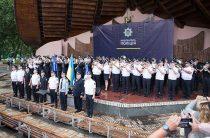 В Киеве впервые состоялся конкурс оркестров Национальной полиции Украины