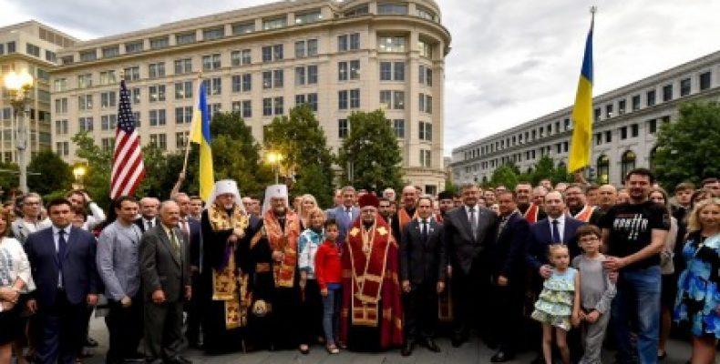 Все, что происходит сейчас в Украине, есть в сердце диаспоры — Президент на встрече с украинской общиной