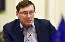 Ю. Луценко назвал самые коррупционные сферы в Украине