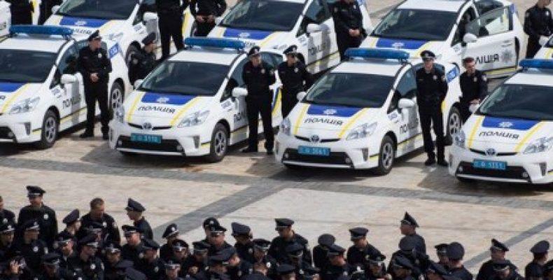 Украинские полицейские скоро пересядут на новые автомобили