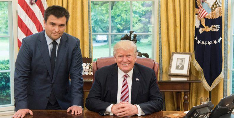 Д. Трамп встретился с П. Климкиным для обсуждения поддержки Украины