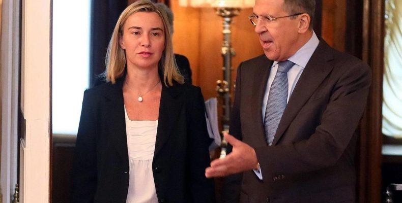 Ф. Могерини в Москве заявила о разногласиях ЕС и РФ относительно Украины