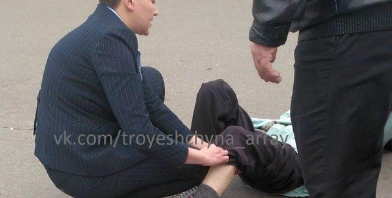 На месте ДТП с участием сестры Н. Савченко работали следователи