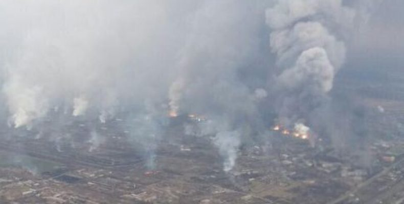 Пашинский: в Балаклее Украина потеряла боеприпасов на $ 1 млрд.