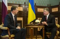 Президент Латвии: мы будем настаивать на выполнении Россией Минских договоренностей