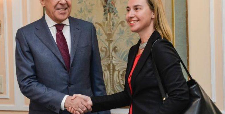 С. Лавров и Ф. Могерини в Москве обсудят вопрос Украины
