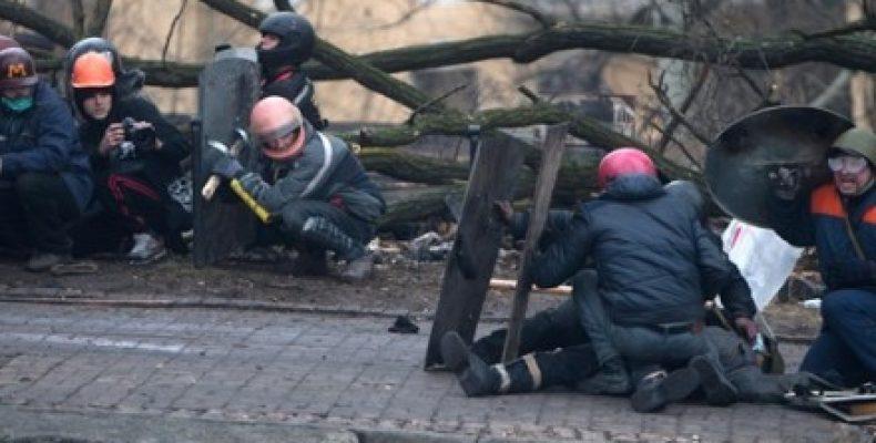 В Киеве на Институтской следователи воссоздали события 20 февраля 2014 года