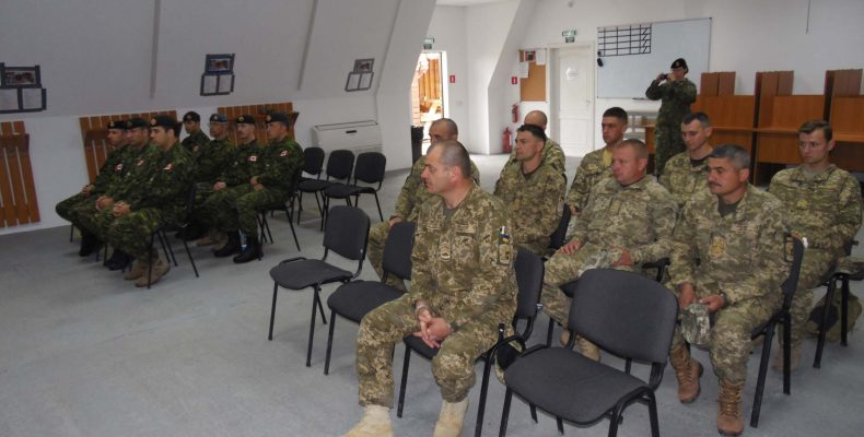 Группа украинских военных саперов получили квалификацию инструкторов по стандартам НАТО
